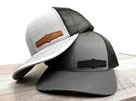 Graphic Disorder - Offset Leather hat