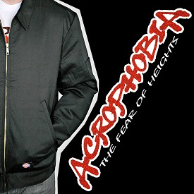 Acrophobia Jacket - Fabric Filled Full Logo