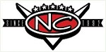 NC Retro V Sticker
