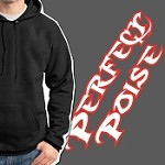 Perfect Poise Hoodie - Text Logo