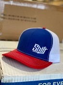 Shift Hat - Red/White/Blue - In Stock!