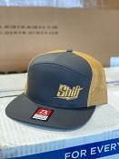 Shift Hat - Charcoal/Old Gold - In Stock!