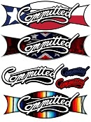 Committed Sticker Pack - 6 Decals
